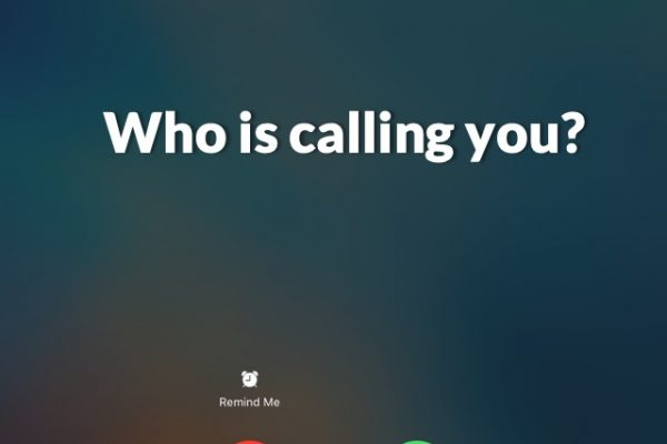 Who Is Calling You - closing image
